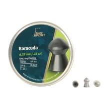 150 Plombs arrondis H&N Baracuda, 6.35 mm