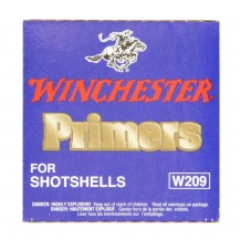 100 amorces Winchester Primers Shotshell