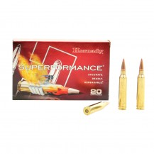 20 munitions Hornady Superformance 7mm Rem Mag