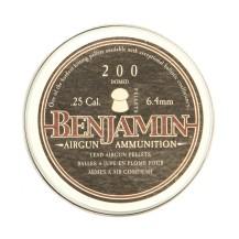 200 plombs arrondis Benjamin Domed calibre 6.35 mm