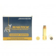 20 munitions Magtech 400 Grs, cal.500 S&W Mag