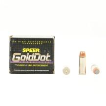 20 munitions Speer Gold Dot 325 gr, calibre .480 Ruger