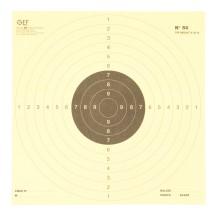 100 cibles N°50 de tir réduit à 25 mètres