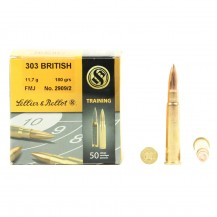 50 munitions Sellier & Bellot Training, cal. 303 British