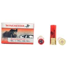 10 cartouches Winchester Buckshot chevrotine, cal 12/70