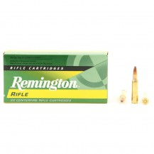 20 munitions Remington Core Lokt PSP 50 Gr, cal .222 Rem