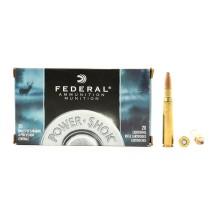 20 munitions Federal Power Shok 180 grains, calibre .30-06