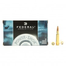 20 munitions Federal Power Shok 180 grains, .308 Win