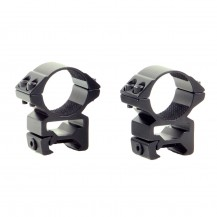 Colliers hauts Hawke 30 mm pour rail picatinny