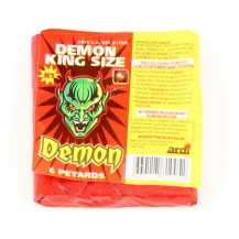 Sachet de 6 Petards Demon King Size, feu d'artifice