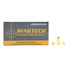 50 munitions Magtech FMC 71 Gr, calibre .32 Auto