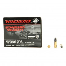 235 munitions Winchester Standard Velocity .22 LR