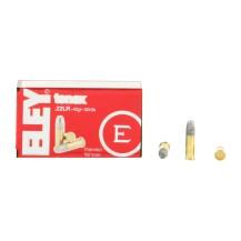50 munitions Eley Tenex, calibre 22 LR