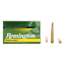 20 munitions Remington Core-Lokt 220 gr, calibre .30-06
