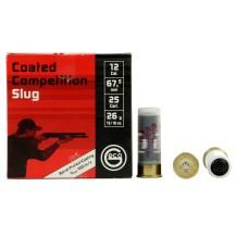 25 Munitions Geco Competition Slug, calibre 12/67.5