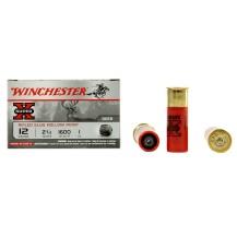 5 cartouches Winchester Super X Slug, calibre 12/70