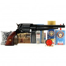 Revolver Pietta 1858 New Army cal.44, pack prêt à tirer