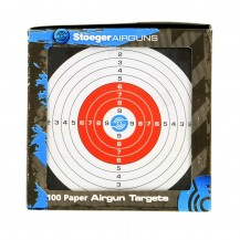 100 cibles Stoeger 14x14 cm