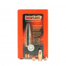 100 ogives Hornady Interlock 170 gr RN, calibre 8 mm