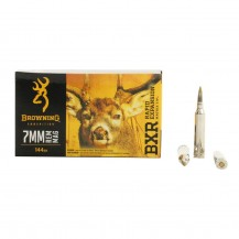 20 muniitons Browning cal. 7 mm Rem Mag 144 gr BXR