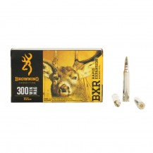 20 munitions Browning cal. 300 Win. Mag 155 gr BXR