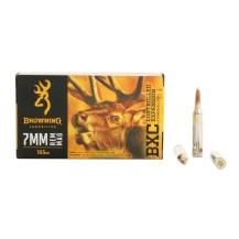 20 munitions Browning cal. 7 mm Rem Mag 155 gr. BXC