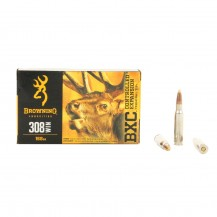 20 munitions Browning cal. 308 Win.168 gr BXC