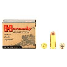 20 munitions Hornady Custom, calibre 50 AE