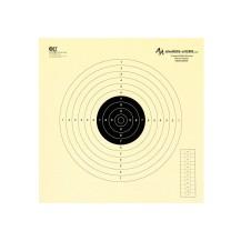 100 cibles GEF 34x34 cm pour le TAR