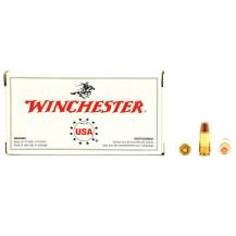50 munitions Winchester 147 Gr, calibre 9x19 mm
