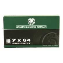 20 munitions RWS ID Classic 177 Gr, calibre 7x64