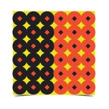 432 pastilles Shoot-N-C rouge & noir Birchwood Casey