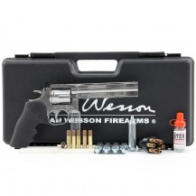 "Pack Dan Wesson 715 6"" nickelé, calibre 4.5 mm BB"