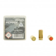 10 munitions Walther Pepper calibre 9 mm PAK