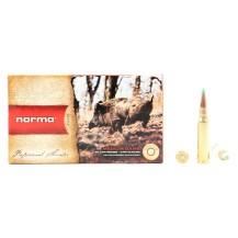 20 munitions Norma Nosler BST 150 Gr, calibre au choix