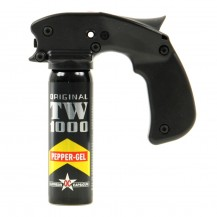 Spray TW 1000 Pepper Gel avec poignée, 100 ml