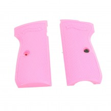 Plaquettes synthétiques roses pour Walther PPK/S 4.5 mm