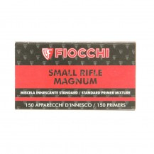 150 amorces Fiocchi Small Rifle Magnum