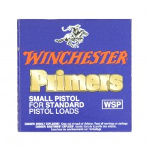 100 amorces Winchester Small Pistol