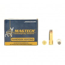 20 munitions Magtech SP 240 gr 454 Casull