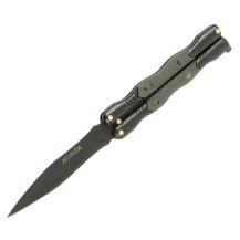 Couteau papillon Cudeman Ninja noir