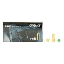 50 munitions à blanc Walther calibre 9 mm PAK