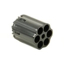 Barillet cannelé noir pour revolver Pietta 1858, cal .44