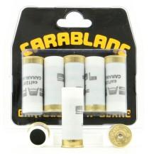 5 cartouches Carablanc SAPL, calibre 12/67