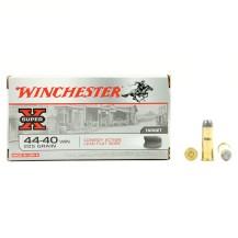 50 munitions Winchester Super X Cowboy, cal. 44-40 Win