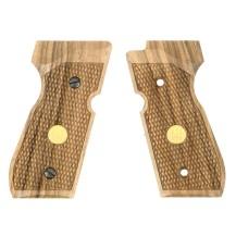 Plaquettes bois pour pistolet à plombs Umarex Beretta 92