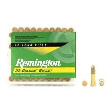 100 munitions Remington 22 Golden Bullet, cal .22 LR