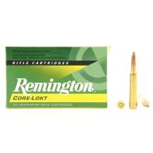 20 munitions Remington Core-Lokt PSP 140 Gr 7x64 mm