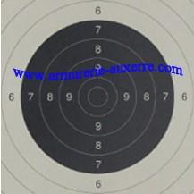 50 Centre de cible C50, dimensions 21x21 cm