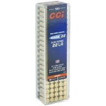 100 munitions CCI Clean-22 Sub-sonic calibre .22 LR